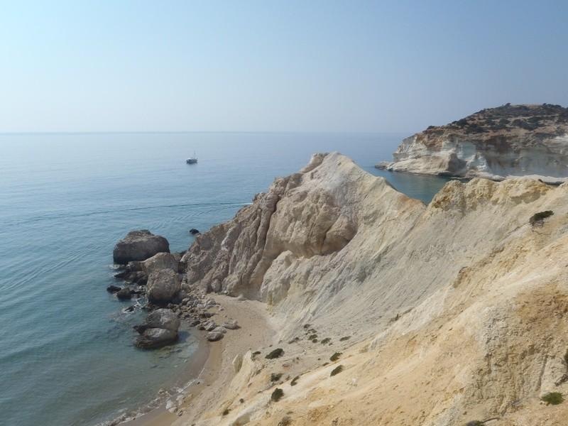Ormos Ag Ioannou, Milos, Cyclades, Greece. Agios Ioannis