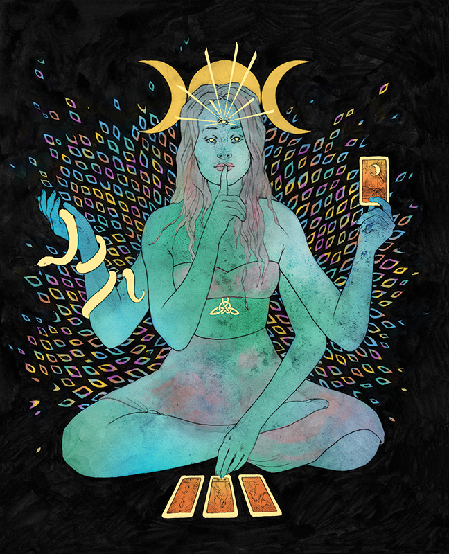 Fortuna, Laura Wilson illustration