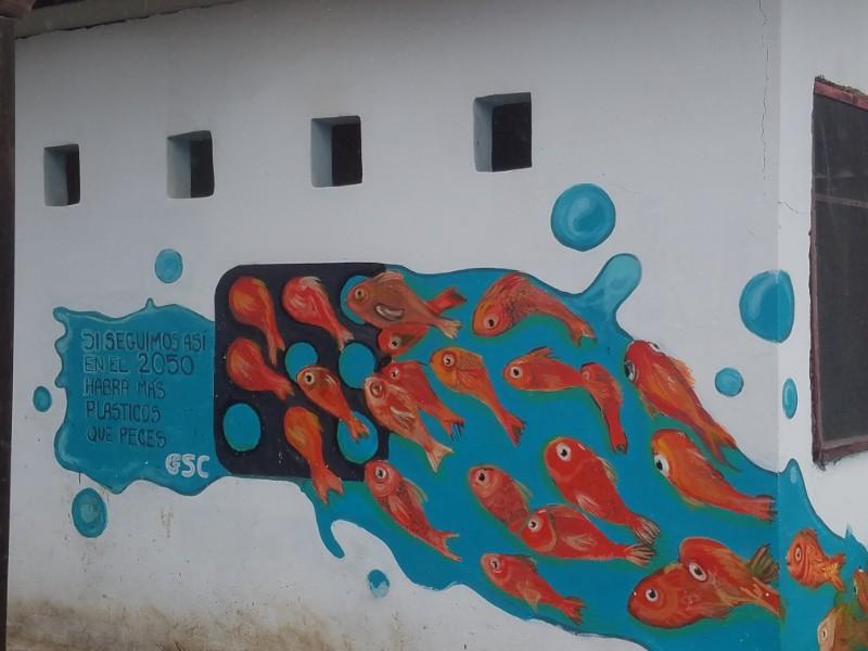 San Cristóbal, Galapagos street art