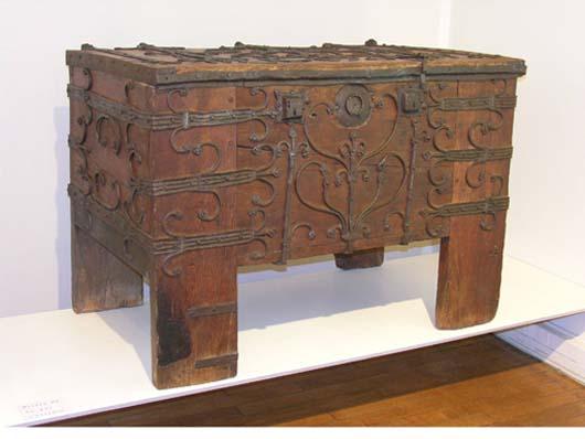 Coffre de Noyon : Musée du Noyonnais