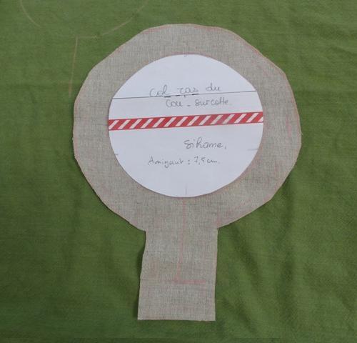 Fig. 1 : le tracé de la parmenture