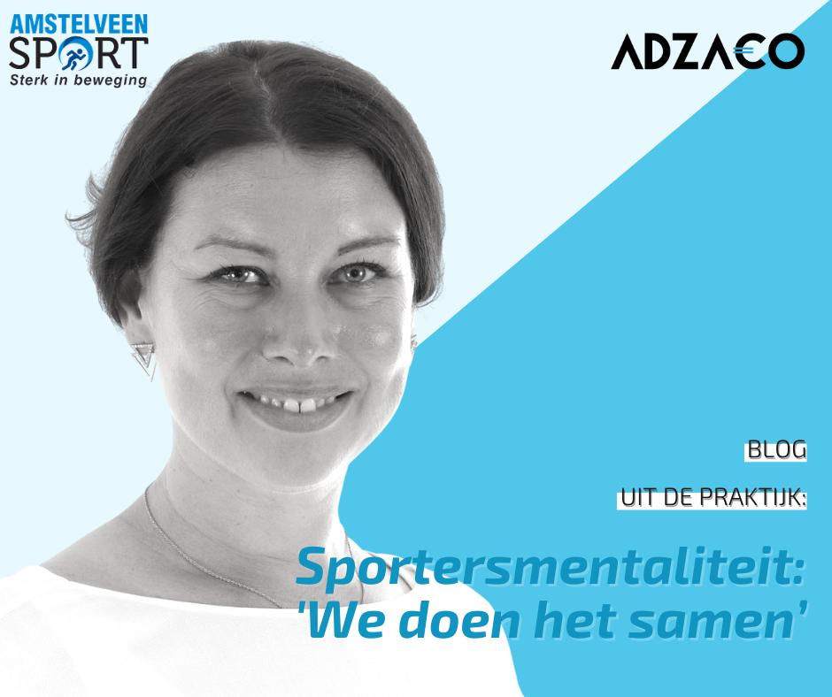 Sportersmentaliteit: We doen het samen'