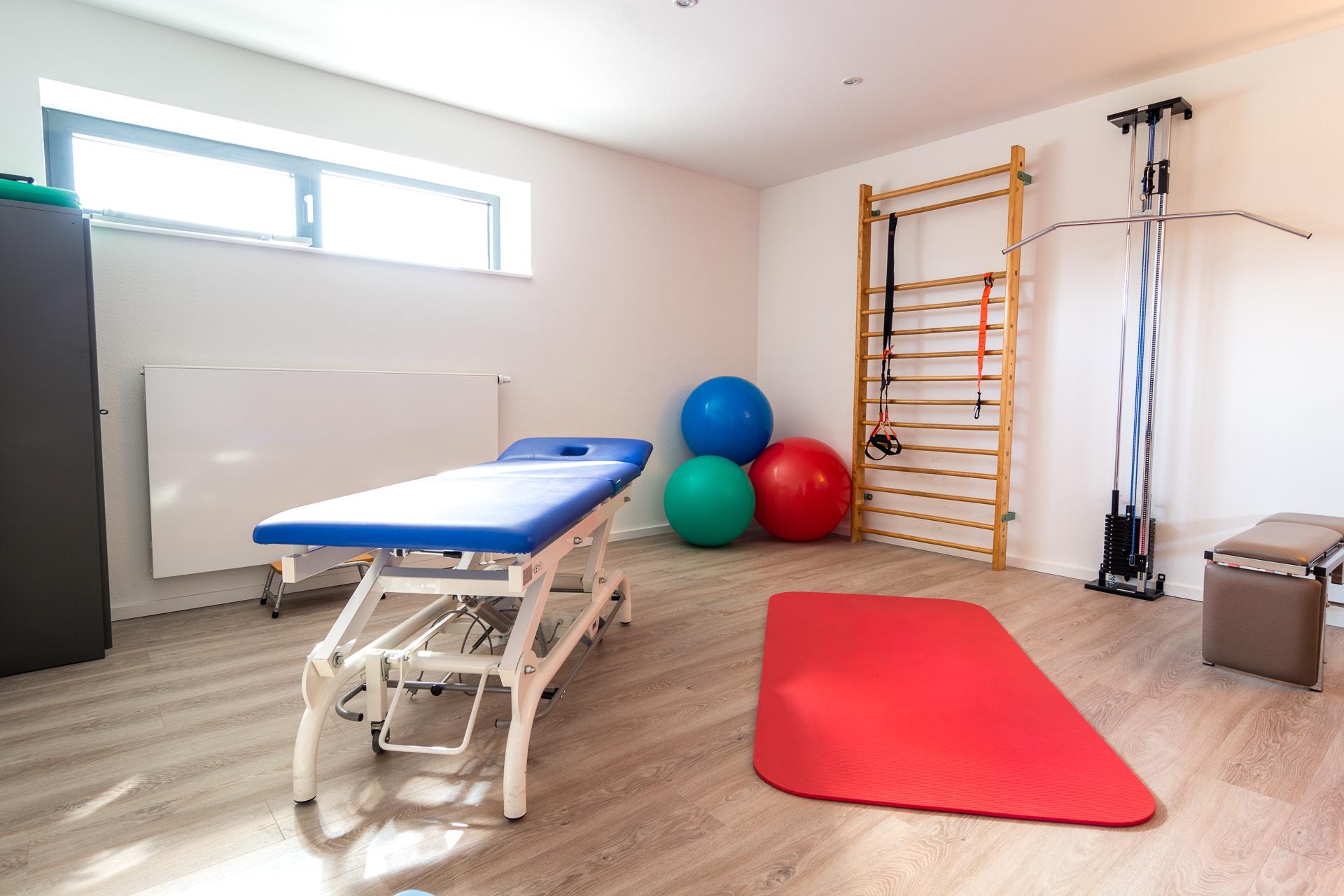 Behandlungsraum 2 - Physiotherapie Flensburg