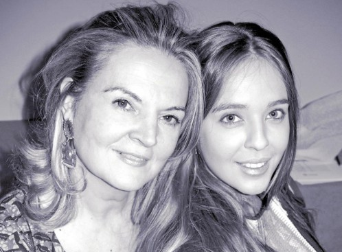 Pilar Mateo y Jessica López de Mateo
