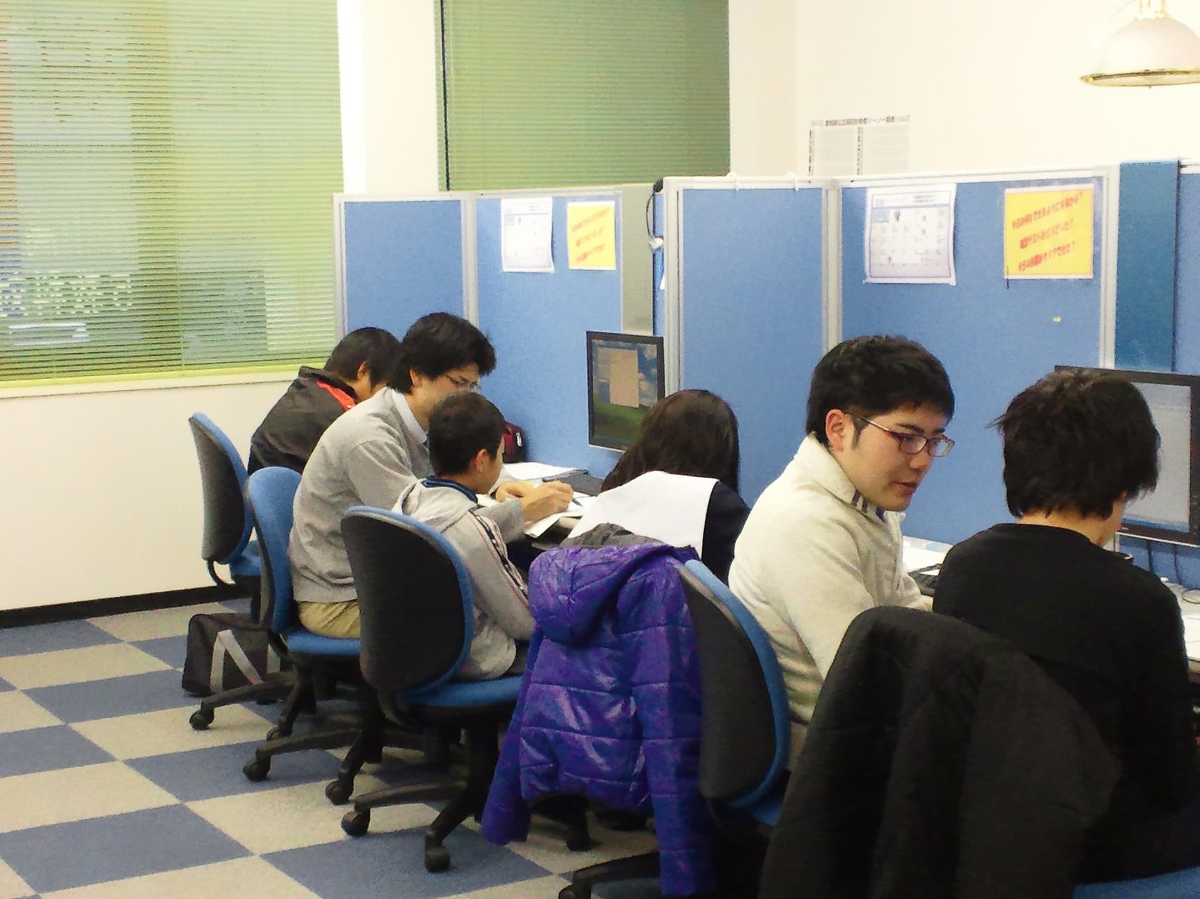 個別授業は担任講師による授業。