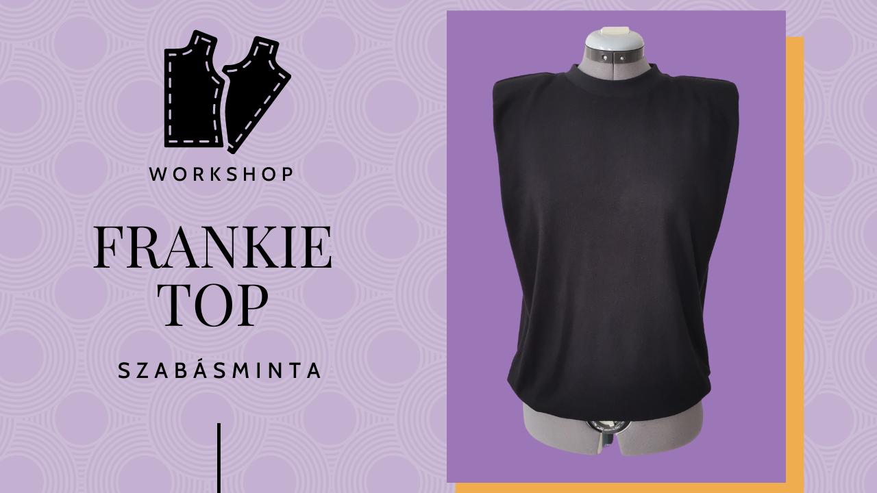 Frankie top- Válltöméses póló