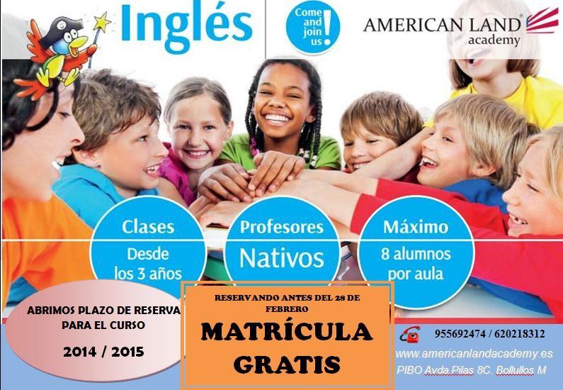 Abierto Plazo de Matrícula 2013-2014
