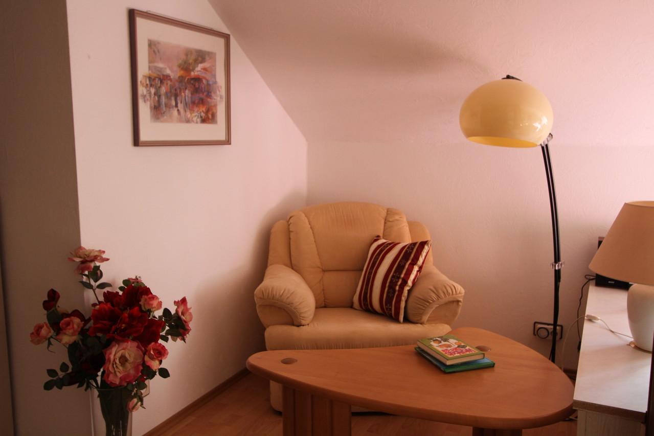 Leseecke im Wohn- / Esszimmer