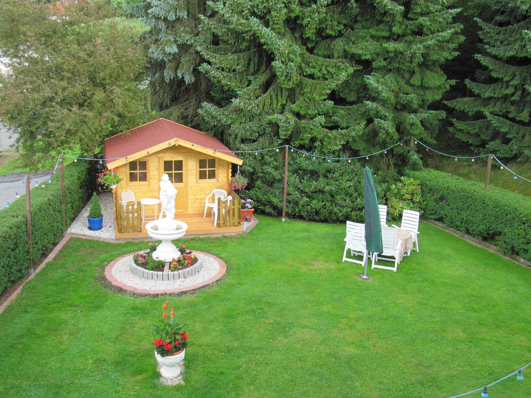 Garten für Feriengäste
