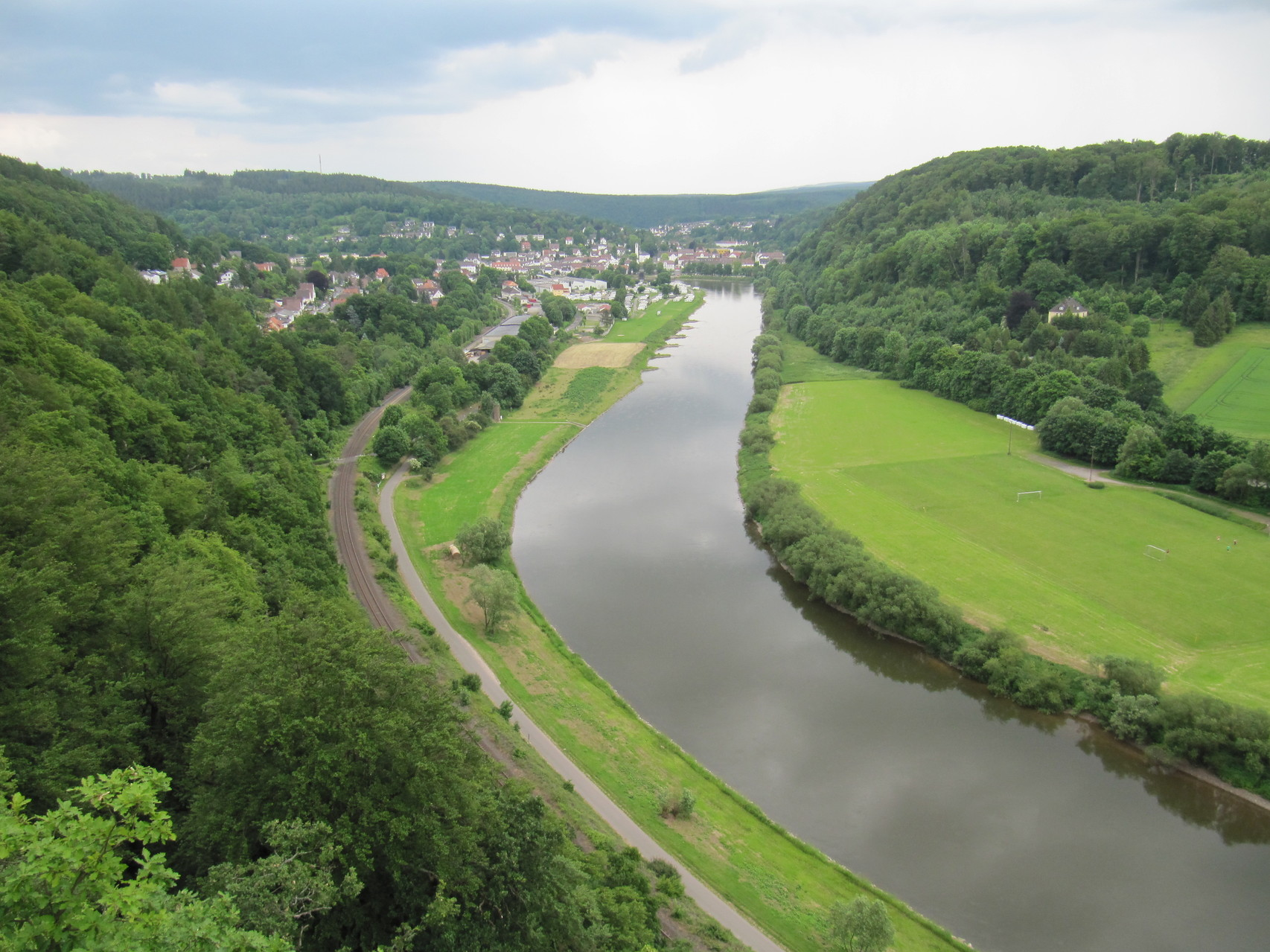 Skywalk an der Weser