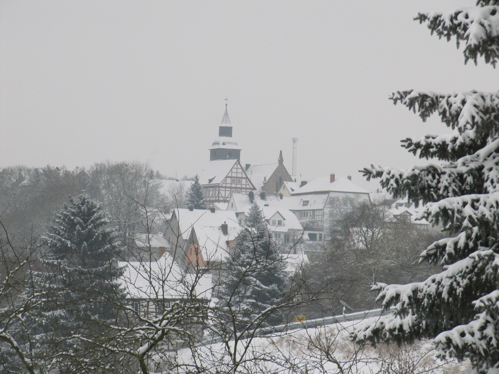 Trendelburg im Winter