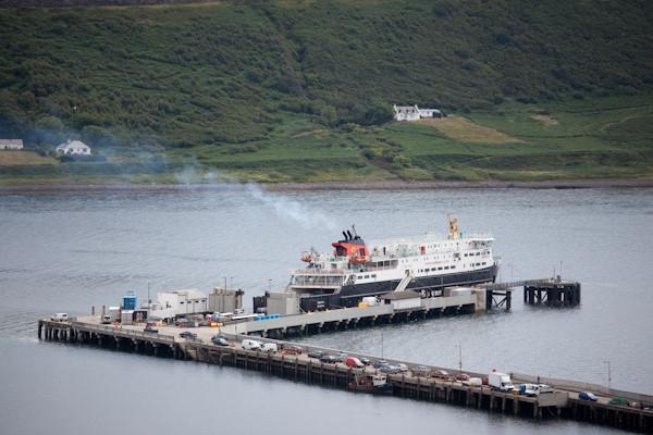 Meine Fähre zu Isle of Skye