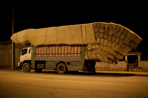 Ladungssicherung auf marokkanisch