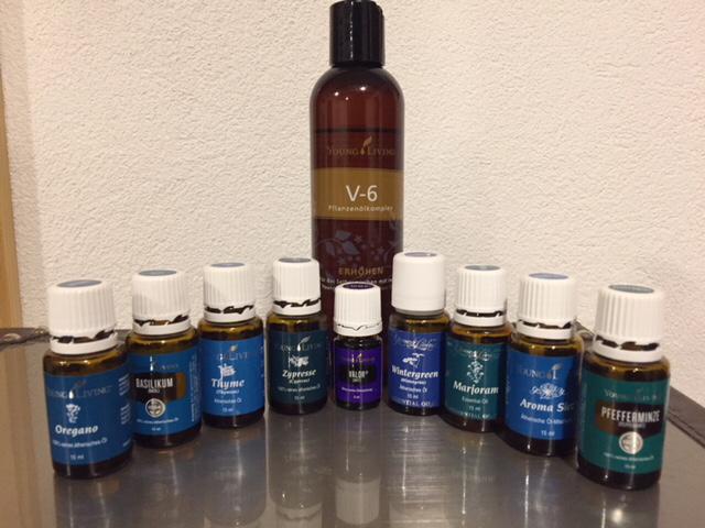 Raindrop Massage mit Ätherischen Ölen