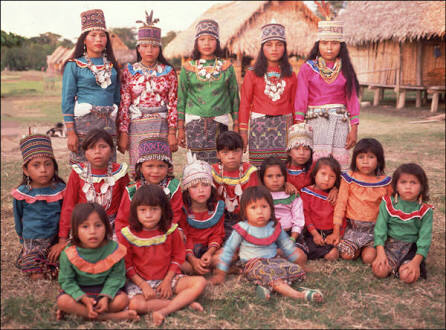 The Shipibo culture from Pucalpa Perú
