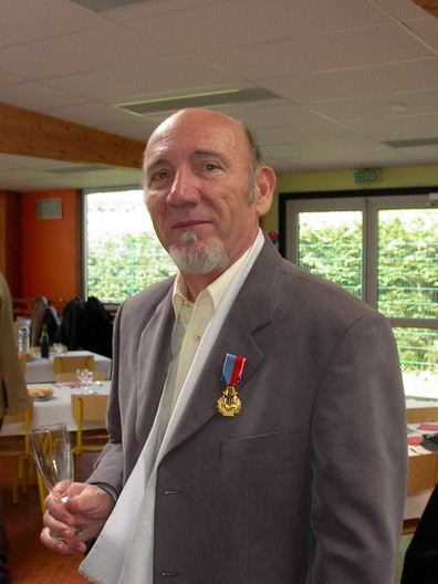 Daniel DICK médaillé