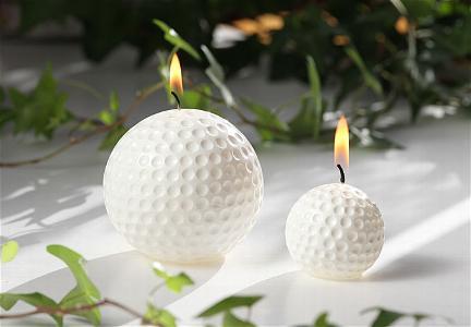 Golfballkerzen
