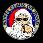 Santa Claus on Road