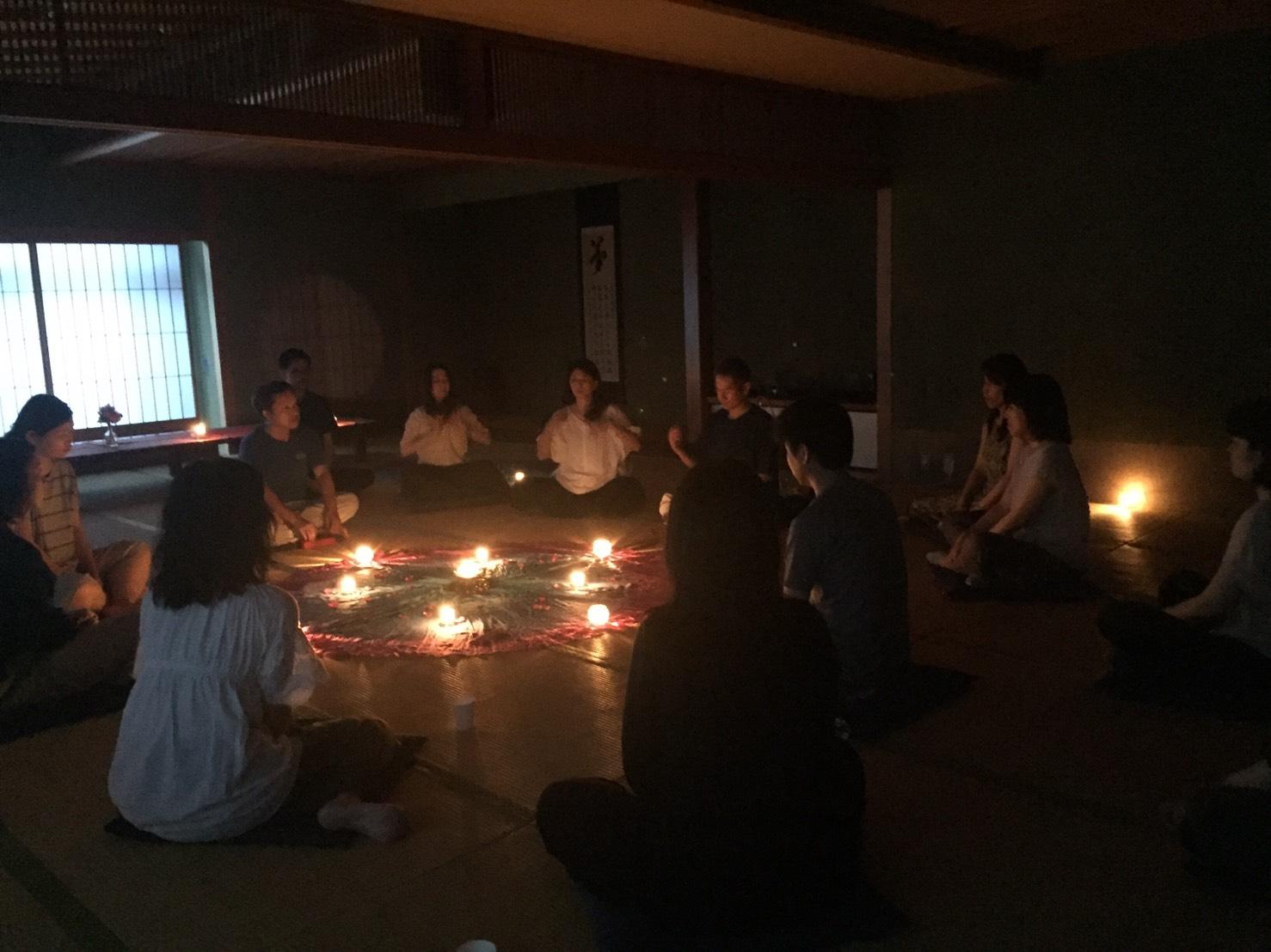 冬至の瞑想会
