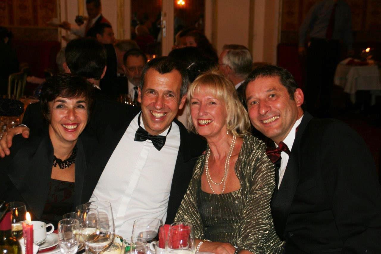 Von links nach rechts: Sabine Bösel, Roland Bösel, Evelin Brehm, Klaus Brehm
