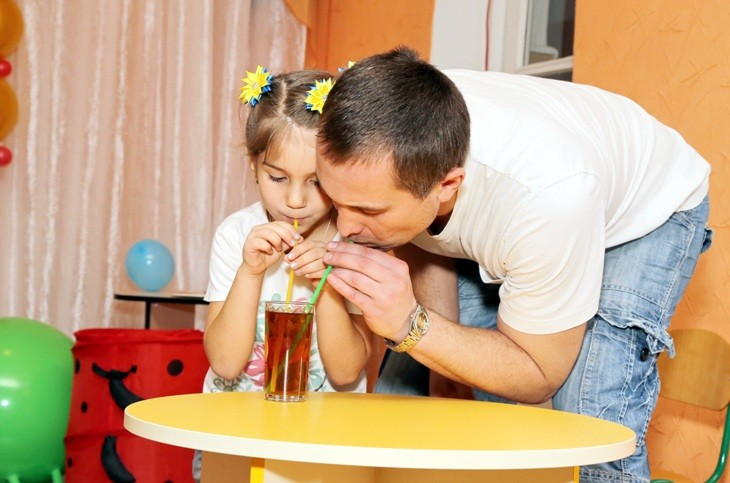 Супер - татусь Фадєєв Олександр Олександрович з донькою Анфісою