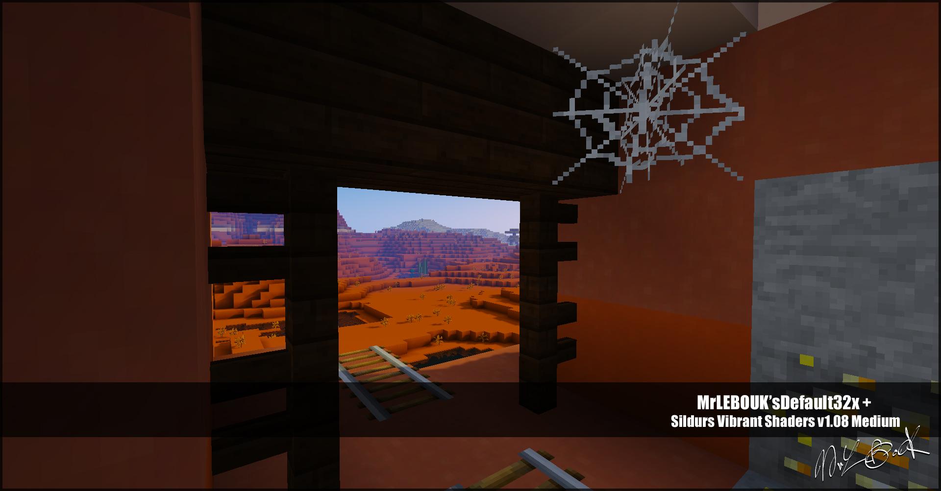 Mineshaft mesa : Resource pack minecraft MrLEBOUK'SDEFAUT32x