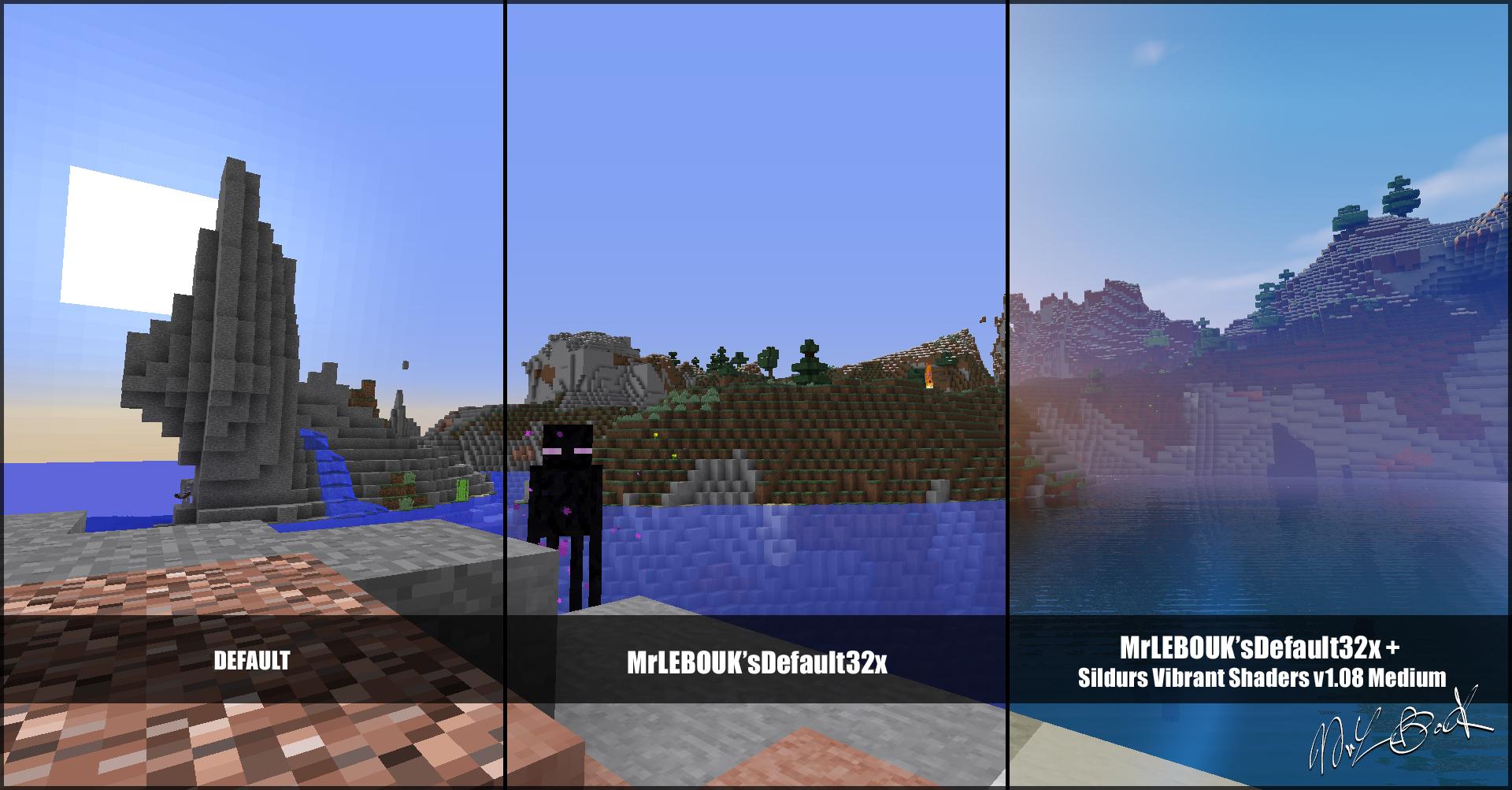 Extreme Hills : Resource pack minecraft MrLEBOUK'SDEFAUT32x