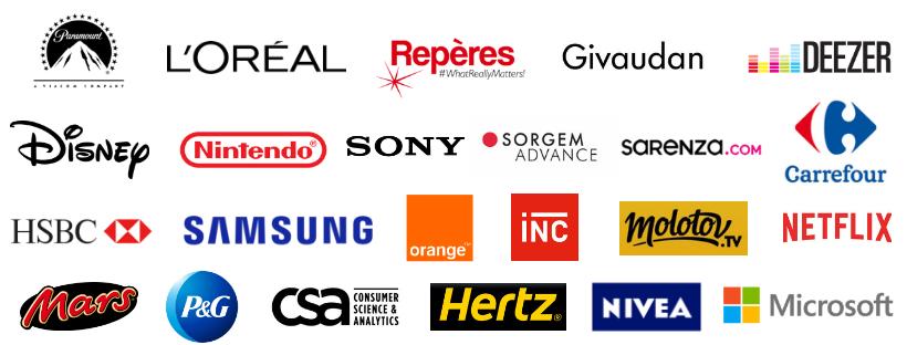 Logos clients Puzzle