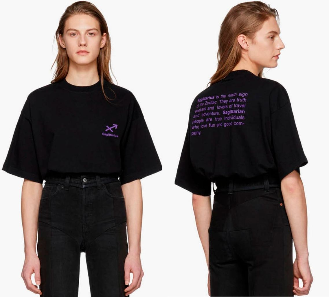 T shirt Astro Sagittarius Vetements