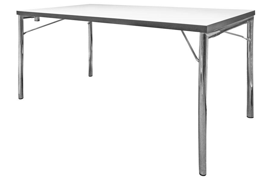 HUGO SILVER mit Vollholz-Tischplatte