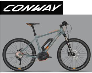 CONWAY - eMoutain Bikes