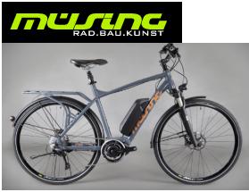 E-Bike Müsing AD. BAU. KUNST.  Aus dem Westernwald.