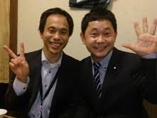 総選挙で鳥取2区候補として頑張った福住地区委員長と大平さん