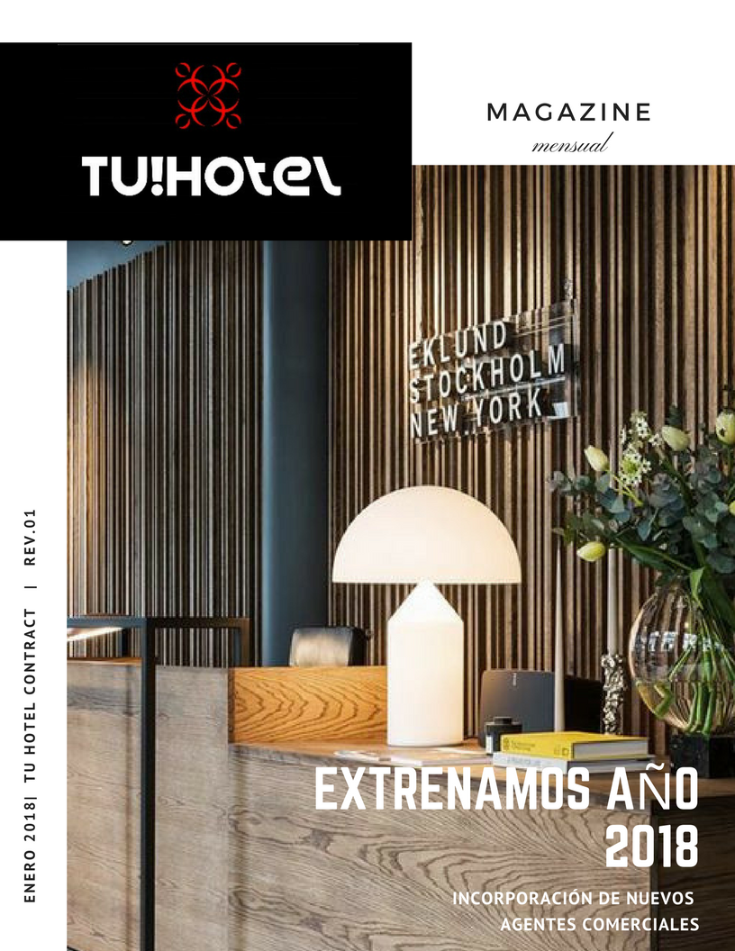 Magazine tu hotel contract, le contamos las novedades de Tu Hotel Contract.