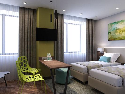 Design hotel room furniture