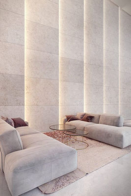 Wall panelling for hotels and lobby