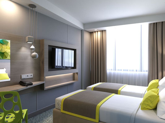 Decoration for hotel room