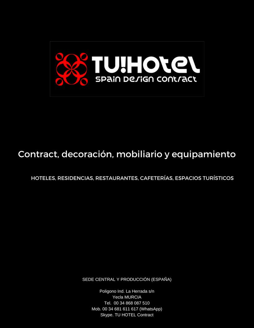 Decoración y equipamiento de hoteles y residencias