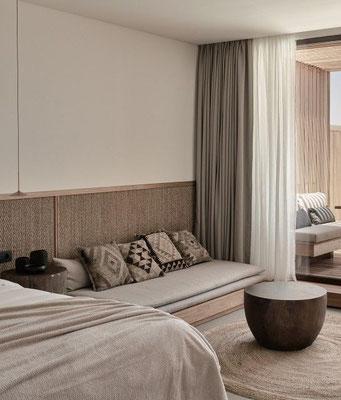 Hotel room furniture