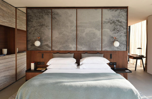 Design and furniture for hotel room