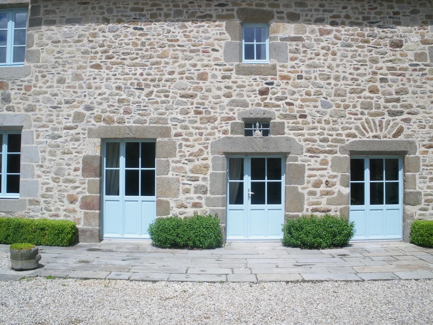 L'entrée du Manoir de la Ville Marie à Hirel