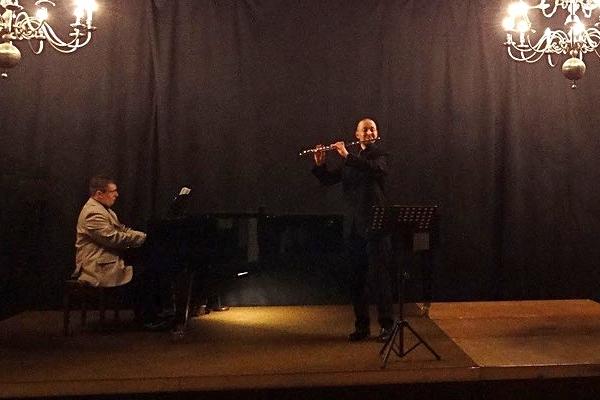 Konzert mit Evgeniy Gasaev im Welfenschloss in Hannoversch Münden, am 7 März 2014.