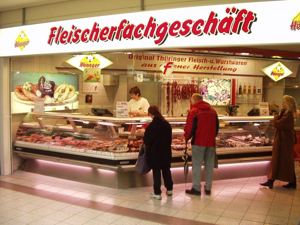 Melchendorfer Markt innen
