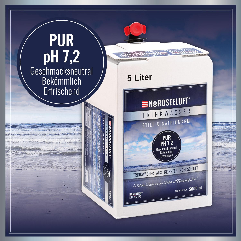 Nordseeluftwasser PUR - 5000 ml Bag in the Box