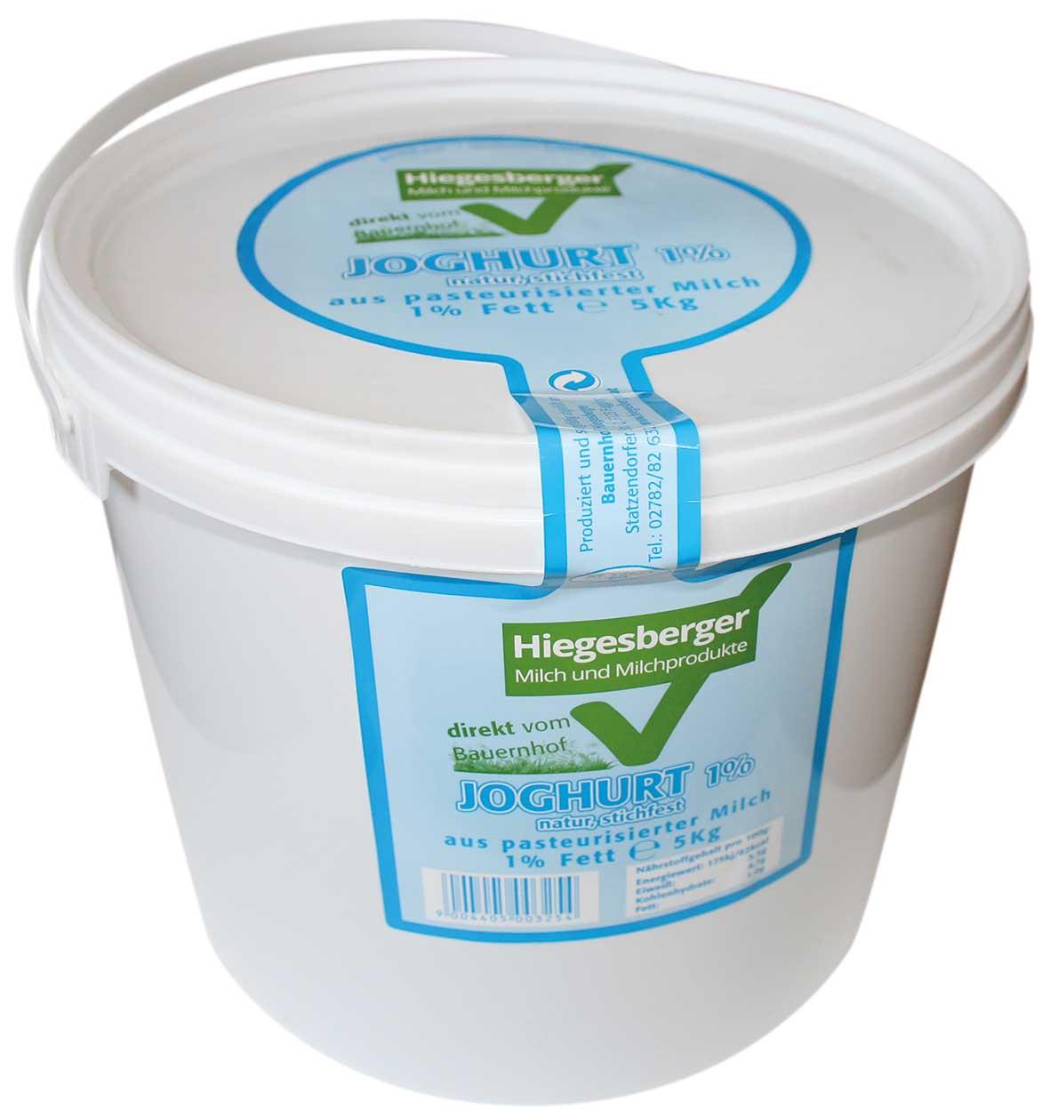 Hiegesberger_Joghurt_1%_Fett_5kg