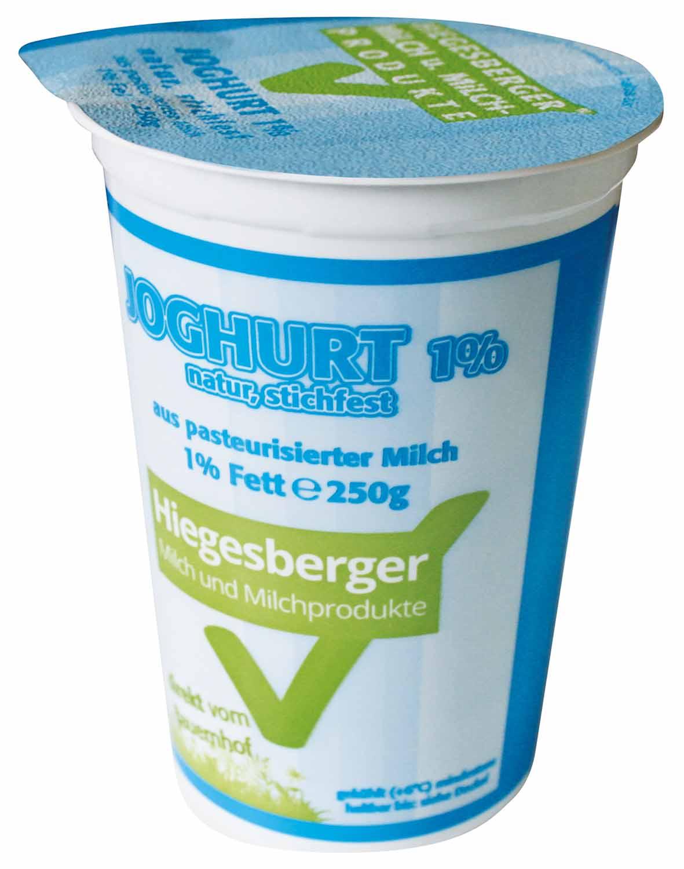 Hiegesberger_Joghurt_1%_Fett_250g