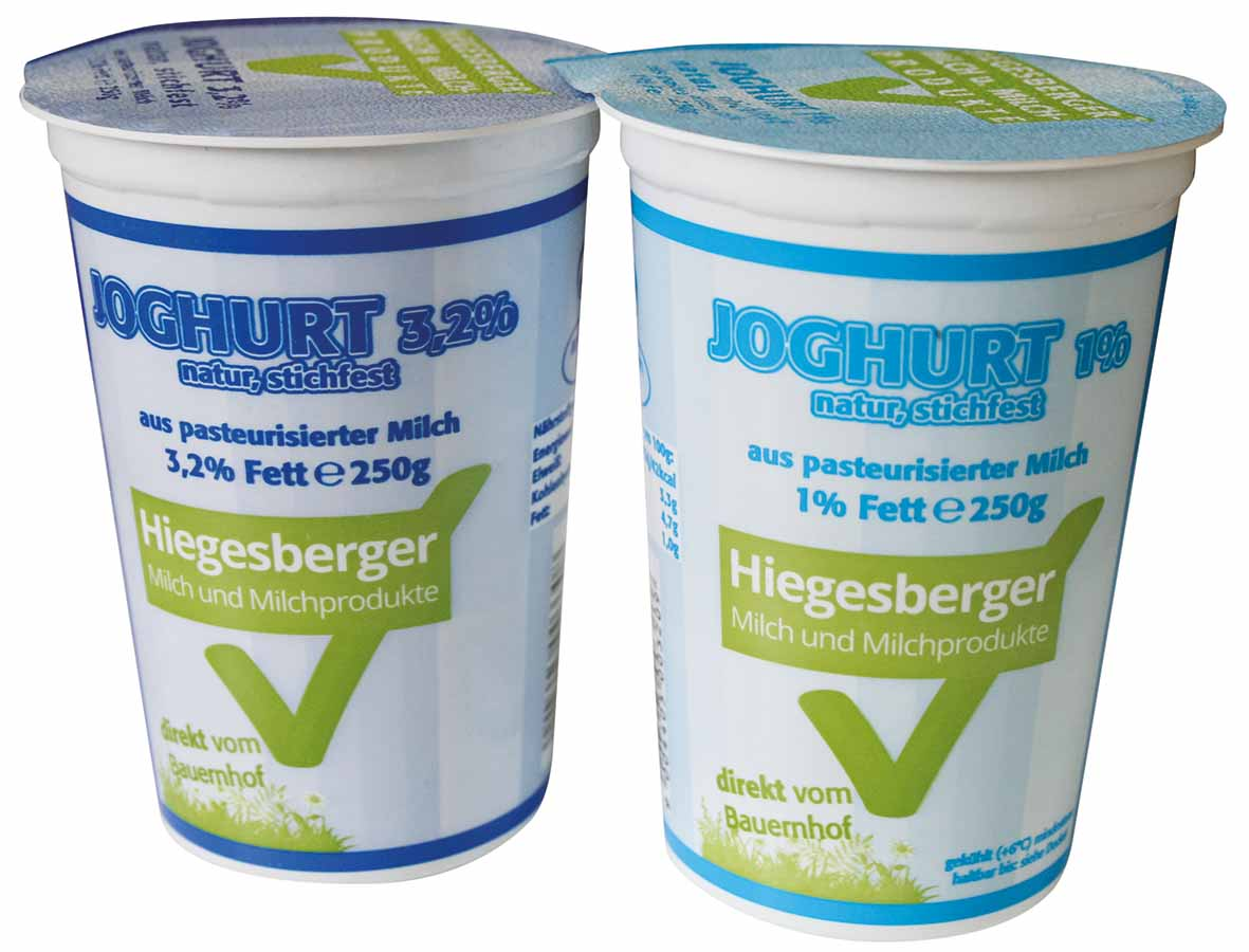 Hiegesberger_Joghurt3,2% und_1%_Fett_250g