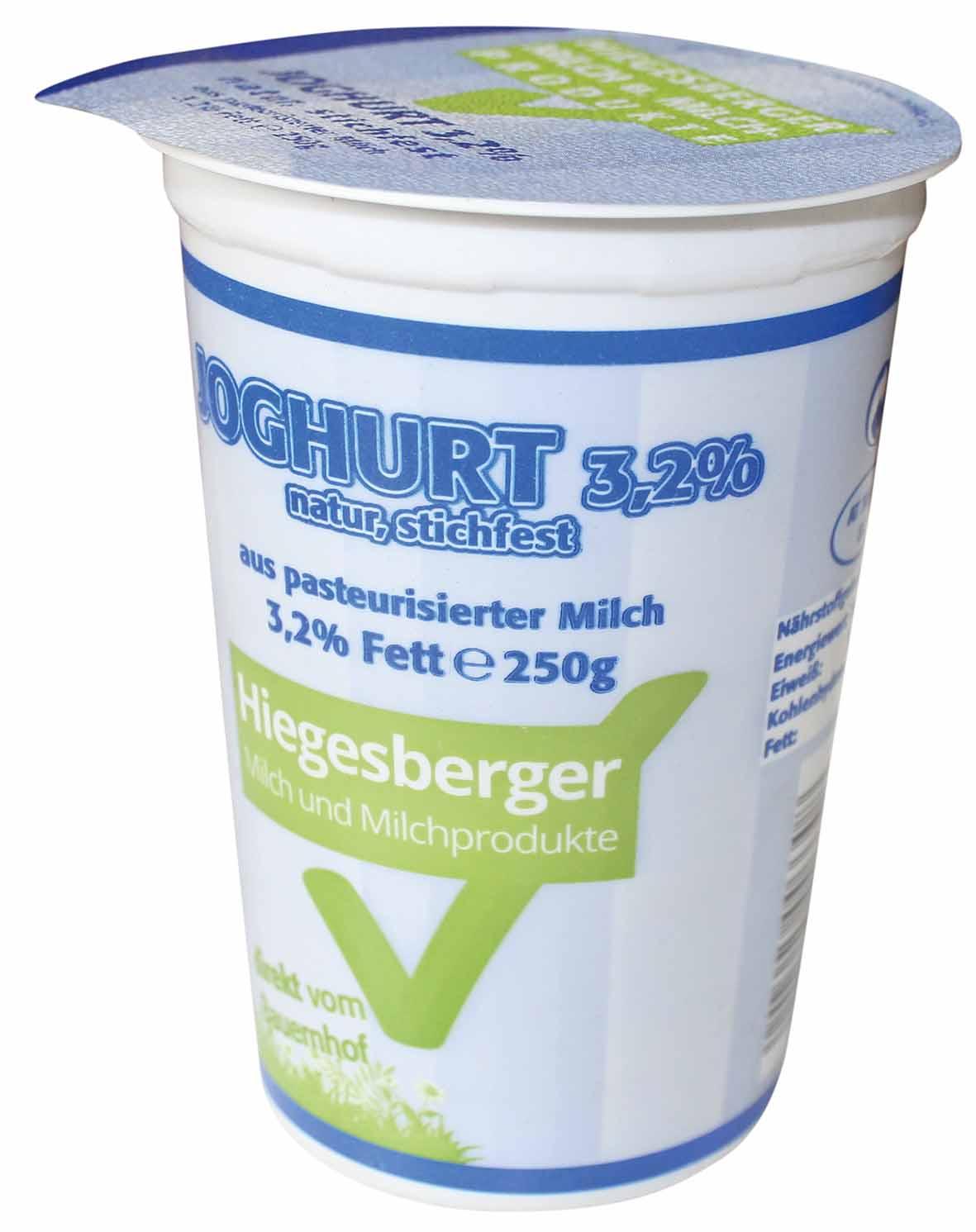 Hiegesberger_Joghurt_3,2%_Fett_250g