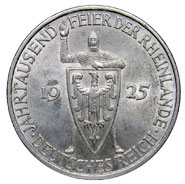 5 Reichsmark Rheinlande 1925