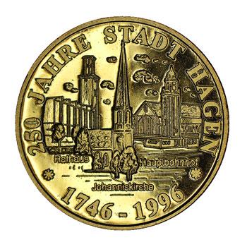 Goldmedaille Hagen
